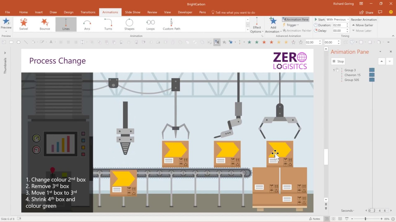 How To Tell Stories With Powerpoint Animations Advanced Powerpoint Tutorial