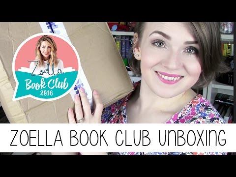 WHSmith Zoella Book Club 2016 unboxing