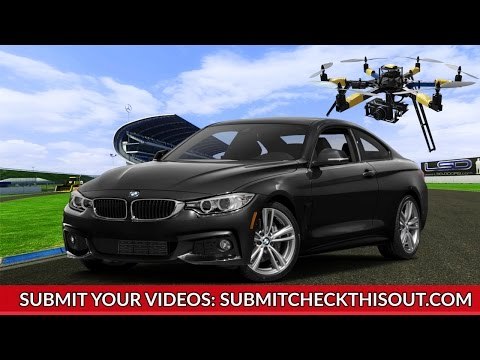 BMW M6 from Drone - [Check This Out] - Latest Viral Videos