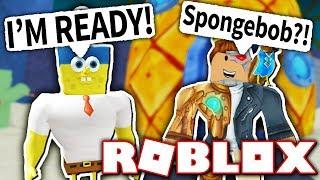 VISITING SPONGEBOB IN BIKINI BOTTOM!! (Roblox)