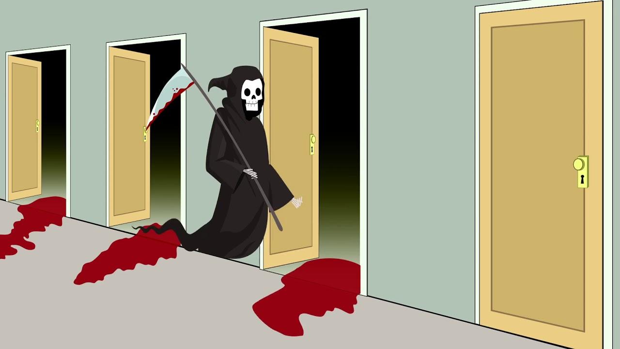 Death Knocking on Doors Meme Grim Reaper High Quality ...