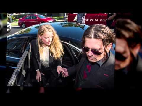Johnny Depp and Amber Heard Leave Australia