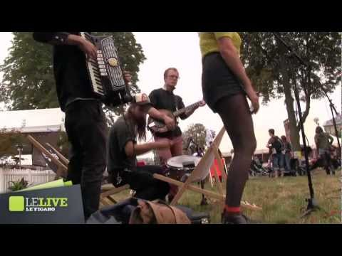 Dark Dark Dark - How It Went Down - Rock en Seine 2012 - Le Live