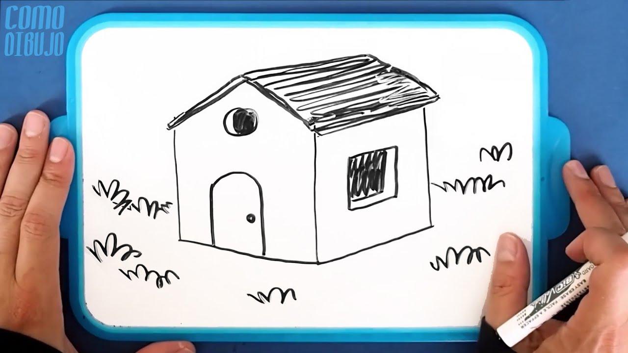 Como Dibujar Bien La Casa De Los Tres Cerditos Paso A Paso