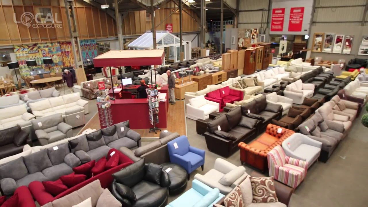 Trade secret outlet furniture warehouse youtube for Furniture depot