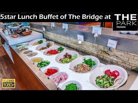 5star Buffet At The Bridge Of THE PARK Hotel Kolkata India