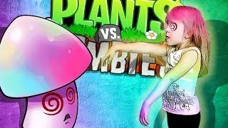 Растения против Зомби ГИПНОГРИБЫ против ЗОМБИ Plants Vs Zombies
