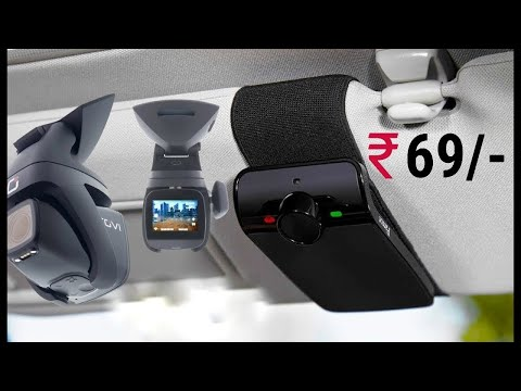 10 Coolest NEW Car Accessories Available On Amazon India & Online | Under Rs69, Rs499, Rs12k