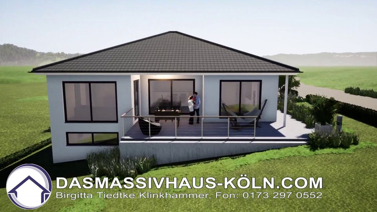 Bungalow Am Hang Bauen Am Hang 3, Individuelle Planung Bungalow - Youtube