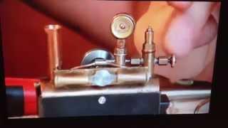 Tiny model steam engine