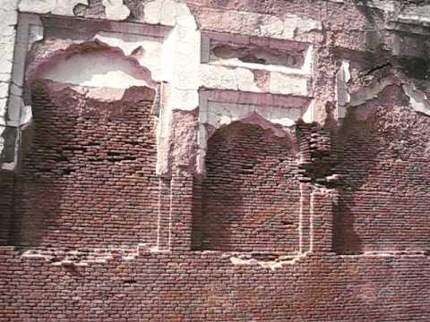 Old Walls - Shalamar Garden 6 September 2008 Lahore Pakistan