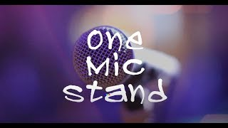 LIVE : It's One Mic Stand, but not as you know it…