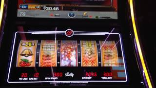 Quick Hit Fever Slot Machine Bonus Huge Big Win Max Bet