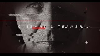 Cinematic Teaser  After Effects template  envato videohive trailer