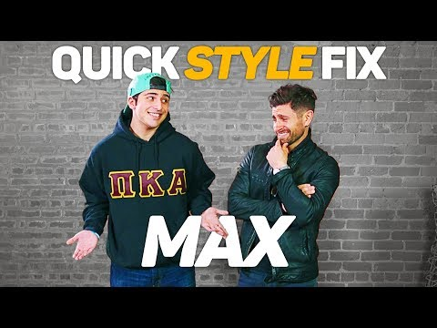*NEW SERIES* QUICK STYLE FIX: Max | A Men's  Makeover Series