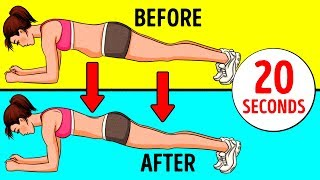 4-Minute Workout for Toned Belly and Buttocks