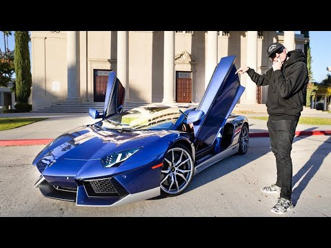 COULD DAVE'S NEXT CAR BE A LAMBORGHINI AVENTADOR?  *R8 REPLACEMENT?*