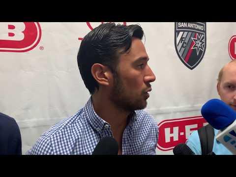 SAFC Midfielder Walter Restrepo Interview - 8.24.19 vs. New Mexico United