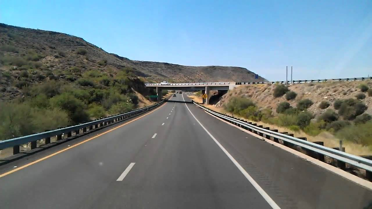 Interstate 17 Southbound near Bumble Bee Arizona