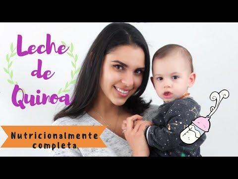 LECHE DE QUINOA NUTRICIONALMENTE COMPLETA PARA BEBÉS Y GRANDES