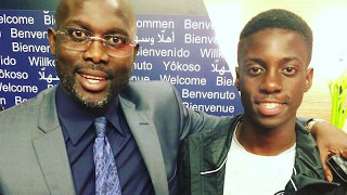 Tim Weah Following in His Father's Footsteps
