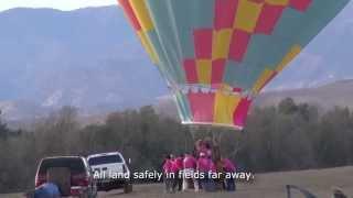 Hot Air Balloons and Emong Kite in Coalinga Thumbnail