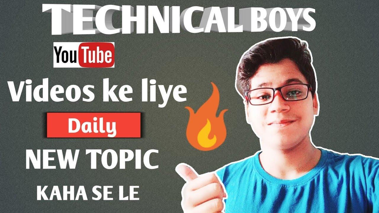 topics for boys