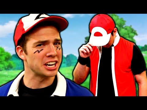 Ash vs Red RAP BATTLE - Pokémon Rap Battle by MandJTV