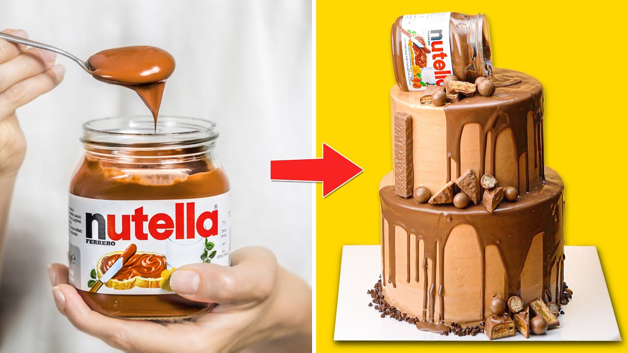 Transform Chocolate Cake And Nutella Hacks | Incredibly Simple Food Ideas, Recipes And Tricks