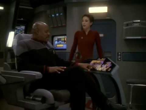"""Star Trek DS9 - """"One Little Ship"""" - Kira having fun"""