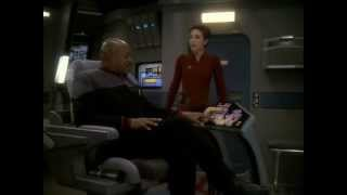 "Star Trek DS9 - ""One Little Ship"" - Kira having fun"