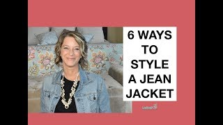 6 Ways to Style a Jean Jacket