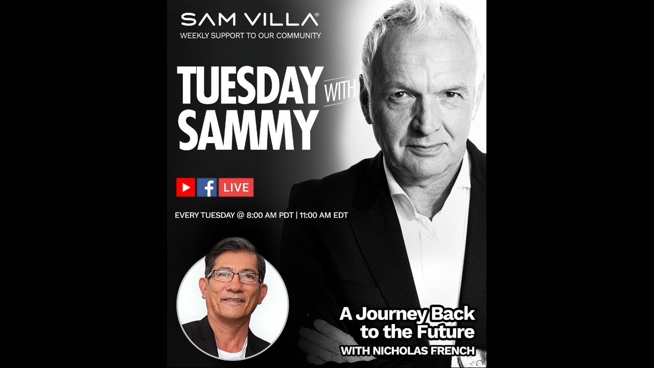 Tuesday w/ Sammy - Guest: Nicholas French - A Journey Back to the Future 7/7 @ 11AM EDT