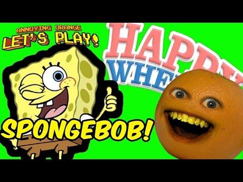 AO Plays - Happy Wheels: SPONGEBOB Levels