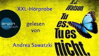 XXL-Hörprobe: »Tu es. Tu es nicht« mit Andrea Sawatzki