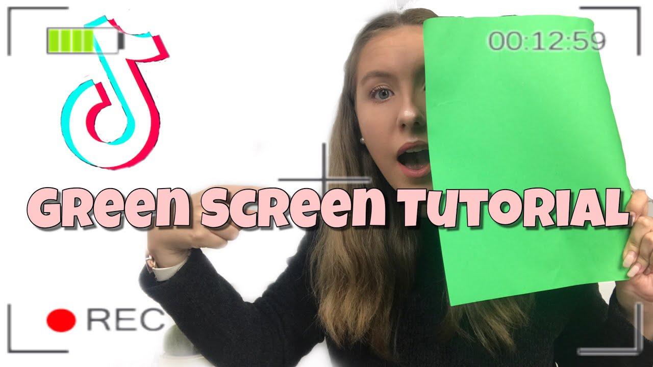 Tiktok Green Screen Effect Icon Hot Tiktok 2020
