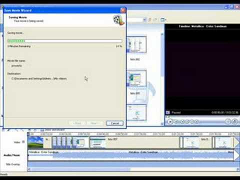 how to add audio to video in movie maker