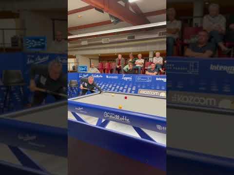 Challenge cup billard Jaspers vs maréchal premier set challenge cup Kozoom 3C