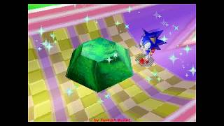 Sonic 3D Blast (Sega Saturn) - (Special Stages - All Chaos Emeralds)