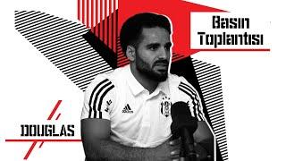 Yeni Transferimiz Douglas Pereira dos Santos'un Basın Toplantısı | Beşiktaş JK