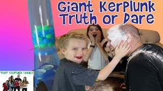 Giant Kerplunk Truth or Dare / That YouTub3 Family