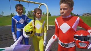 Power Rangers Season 2 Ep. 2 Behind the Scenes Action Pt. 1 - Ninja Kidz TV