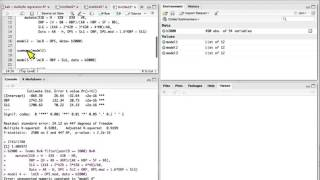Learning R in RStudio: Multiple Regression and Team Batting Performance