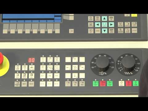 SINUMERIK 808D Tutorial Turning Part 2 - Switch On & Reference Axis