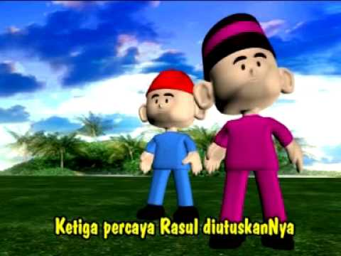 Rukun Iman (Islamic Kindergarten Song)