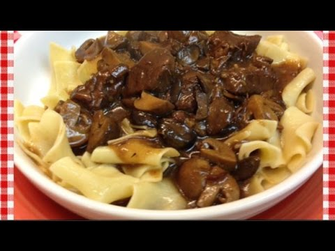 Amish Style Beef & Noodles ~ Pressure Cooker Recipe ~Noreen's Kitchen