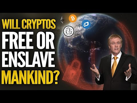Will Cryptos Free Or Enslave Mankind? Mike Maloney