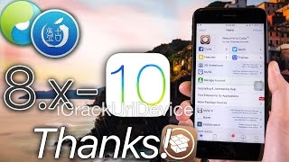 iOS 10 Jailbreak Wait - Thank You, Pangu & TaiG! APPRECIATION (10.1.1 - 10.2 Not Out,  YET)