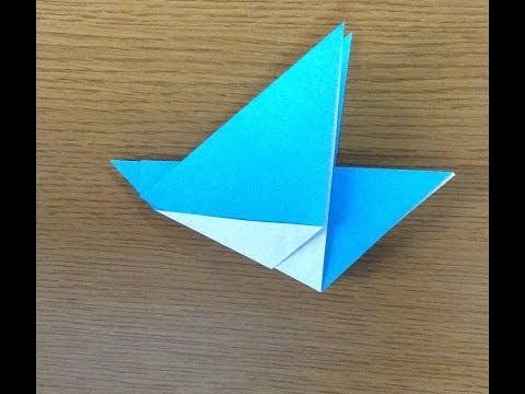 ハート 折り紙 : 鳥 折り紙 簡単 : youtube.com