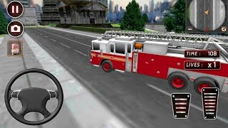 rescue fire truck simulator android